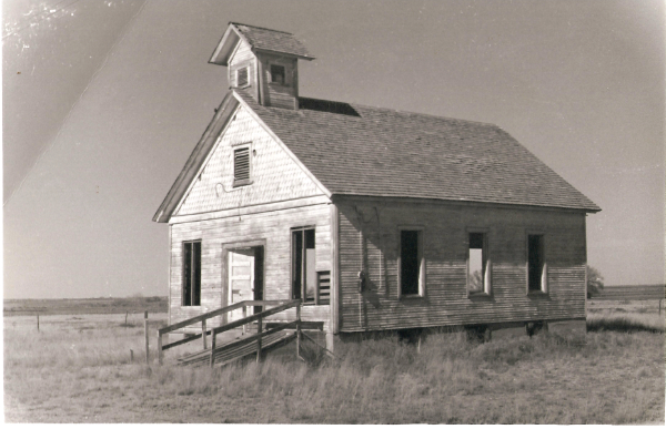 lackdom church and schoolhouse, undated. Courtesy Historical Society for Southeast New Mexico.