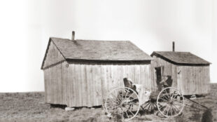 Scene in Blackdom, undated. Courtesy Historical Society for Southeast New Mexico.